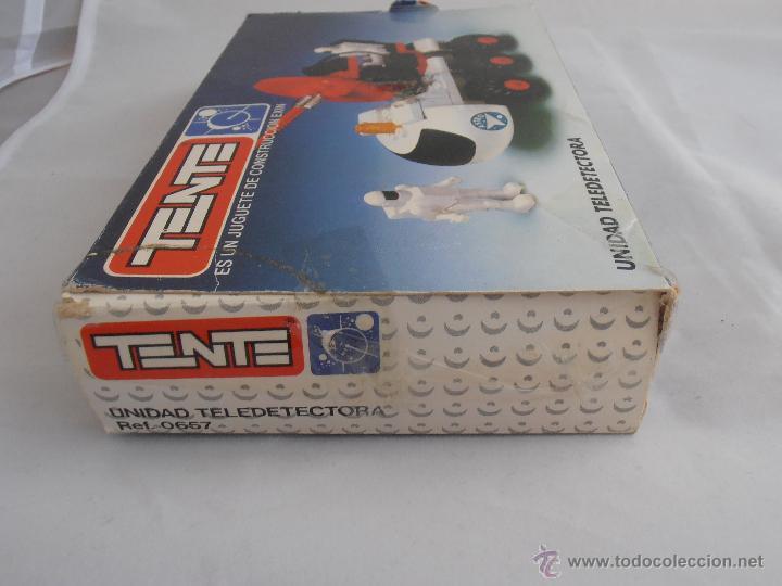 Juegos construcción - Tente: CAJA TENTE ASTRO UNIDAD TELEDETECTORA REF 0657 BUEN ESTADO - Foto 8 - 139788740