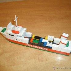 Juegos construcción - Tente: TENTE EXIN MAR OCEANIS. REF. 0614. FERRY EGEO (TRANSFERRY). COMPLETO. INSTRUCCIONES*. Lote 53159060