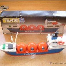 Juegos construcción - Tente: TENTE EXIN MAR-OCEANIS. METANERO ÁFRICA (LIBIA). ENAGAZ. 0611. COMPLETO, CON CAJA E INSTRUCCIONES. Lote 53162870
