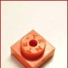 Juegos construcción - Tente: TENTE - 1 X 1 X 0 ROJO. Lote 56590218
