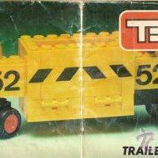 Juegos construcción - Tente: TENTE - TRAILER TRANSPORTE MINERALES REF 685. Lote 54236017