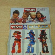 Juegos construcción - Tente: ANTIGUO CATALOGO DE TENTE ROBLOCK MAR COSMIC EN EXCELENTE ESTADO. Lote 54426557