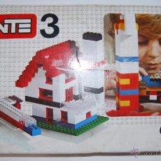 Juegos construcción - Tente: ANTIGUO TENTE 3 EXIN. Lote 54910063