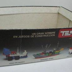 Juegos construcción - Tente: CAJA EXPOSITOR VACIA DE TENTE COMBI. Lote 55554077