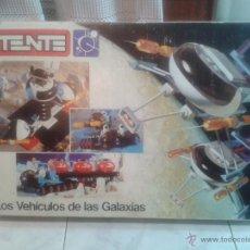 Juegos construcción - Tente: CAJA VACIA TENTE ASTRO MULTIPLE REF 0552 LOS VEHICULOS DE LAS GALAXIAS EXIN-LINES BROS ORIGINAL. Lote 55898330