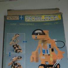 Juegos construcción - Tente: SUPER TRANSFORMABLE TENTE ROBLOCK GAMMA II 0781,. Lote 55998135