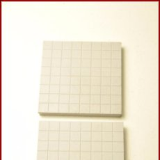 Juegos construcción - Tente: TENTE - 4 X 4 X 0 CUADRICULADA PISTA GRIS CLARO X2. Lote 56523604