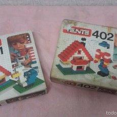 Juegos construcción - Tente: TENTE 401 Y 402 LOTE DE 2 JUEGOS TENTE -EXIN. Lote 57564049