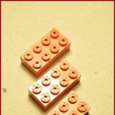 Juegos construcción - Tente: TENTE UNBOXING 1 - 4 X 2 X 1 ROJO X3. Lote 57640626