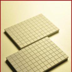 Juegos construcción - Tente: TENTE UNBOXING 2 - 6 X 4 X 0 CUADRICULADO GRIS CLARO X2. Lote 57683440