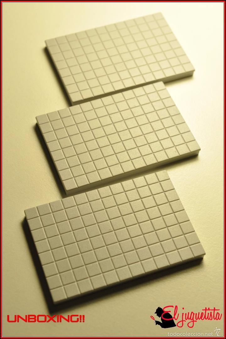TENTE UNBOXING 2 - 6 X 4 X 0 CUADRICULADO GRIS CLARO X3 (Juguetes - Construcción - Tente)