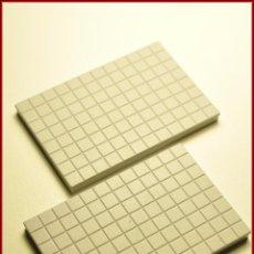 Juegos construcción - Tente: TENTE UNBOXING 2 - 6 X 4 X 0 CUADRICULADO GRIS CLARO X2. Lote 57686352