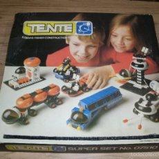 Juegos construcción - Tente: TENTE EXIN. SUPER SET NO. 07510 (VEHÍCULOS DE LAS GALAXIAS). 0552. COMPLETO*. CAJA E INSTRUCCIONES. Lote 58098665