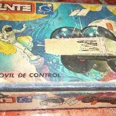 Juegos construcción - Tente: CAJA CARTON PRENSADO REMACHES DE CERRADURA TENTE ASTRO CENTRO MOVIL DE CONTROL REF 0651 .. Lote 58099736