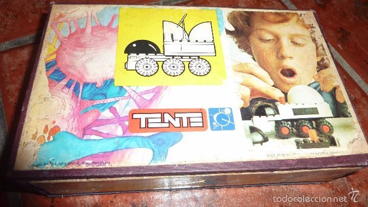 Juegos construcción - Tente: caja carton prensado remaches de cerradura tente astro centro movil de control ref 0651 . - Foto 3 - 58099736