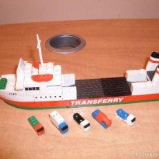 Juegos construcción - Tente: TENTE MAR-OCEANIS. FERRY. EGEO (TRANSFERRY). 0614. EXIN. INSTRUCCIONES*. Lote 58556741