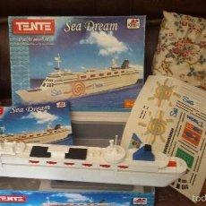Juegos construcción - Tente: TENTE SEA DREAM COMPLETO EN CAJA CON PEGATINAS E INSTRUCCIONES DE BORRAS. Lote 58947715