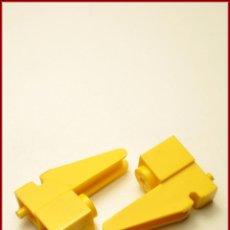 Juegos construcción - Tente: TENTE - BASE GRUA AMARILLO X2. Lote 64613695