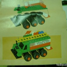 Juegos construcción - Tente: TENTE EXIN EXPEDICION MOZAMBIQUE SERIE RUTA. Lote 68116781