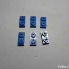 Juegos construcción - Tente: TENTE 2X1 AZUL 6 UNIDADES. Lote 177745809