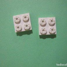 Juegos construcción - Tente: TENTE BLANCO PLACA 2X2. Lote 75265543