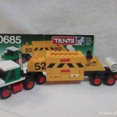 Juegos construcción - Tente: TENTE - TRAILER TRANSPORTE MINERALES - REFERENCIA 0685 TENTE DE EXIN . Lote 76211435