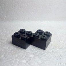 Juegos construcción - Tente: NEGRO JACENA 2X2 - TENTE (2 UNIDADES). Lote 151888920