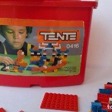 Juegos construcción - Tente: TENTE REF 0416. CUBO CAJA CON MÁS DE 280 PIEZAS.. Lote 80475657