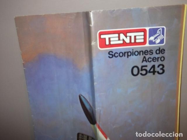 Juegos construcción - Tente: TENTE SCORPION 0543 - SCORPIONES DE ACERO - INSTRUCCIONES - Foto 2 - 80760354