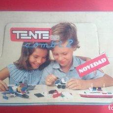 Juegos construcción - Tente: TENTE COMBI EXIN, CAJA EXPOSITOR. Lote 81135492