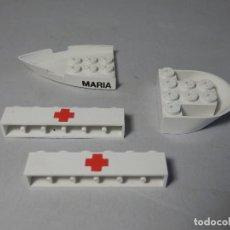 Juegos construcción - Tente: TENTE PIEZAS BARCO HOSPITAL MARIA. Lote 83828924