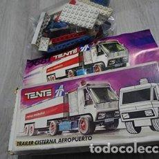 Juegos construcción - Tente: TENTE RUTA REF: 0681 TRAILER CISTERNA AEROPUERTO AÑOS 70S EXIN LINE BROS.. Lote 84436476