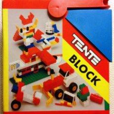 Juegos construcción - Tente: TENTE BLOCK EXIN 0414. Lote 86656644