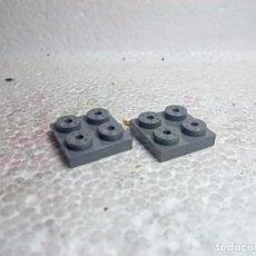 Jeux construction - Tente: GRIS PLACA 2X2 - TENTE (2 UNIDADES). Lote 191326942