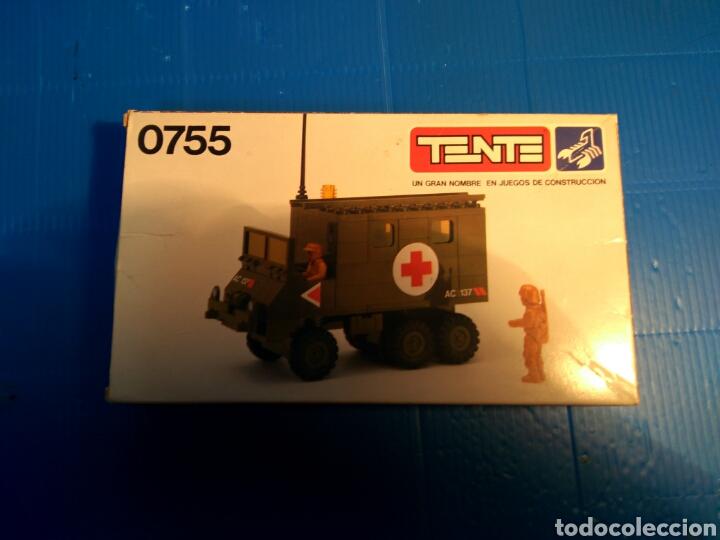 Juegos construcción - Tente: TENTE scorpion caja e instrucciones ref. 0755 ambulancia - Foto 2 - 92071390