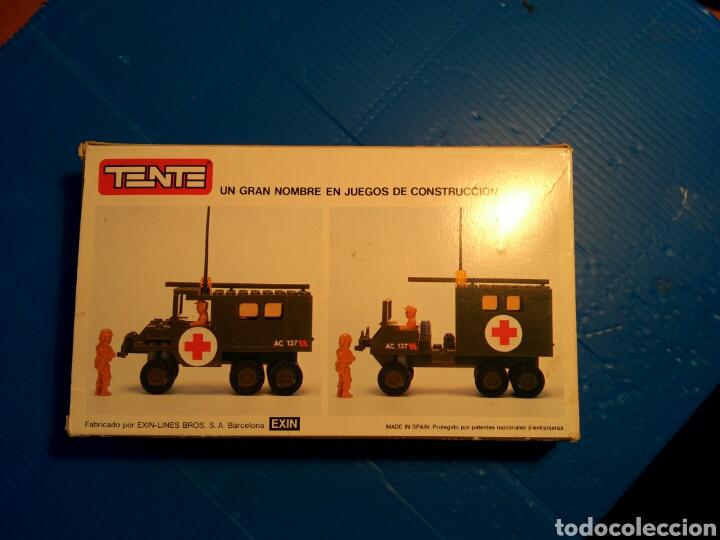 Juegos construcción - Tente: TENTE scorpion caja e instrucciones ref. 0755 ambulancia - Foto 3 - 92071390