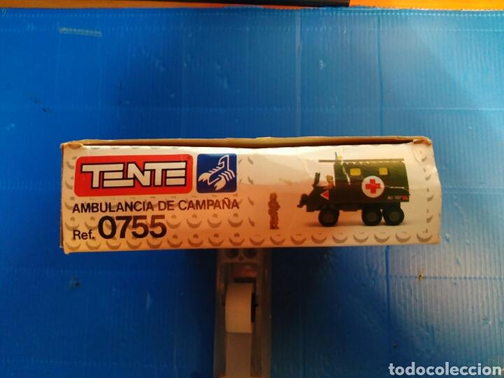 Juegos construcción - Tente: TENTE scorpion caja e instrucciones ref. 0755 ambulancia - Foto 6 - 92071390