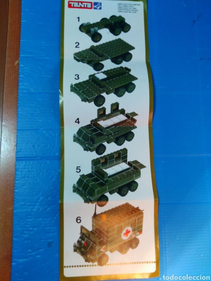 Juegos construcción - Tente: TENTE scorpion caja e instrucciones ref. 0755 ambulancia - Foto 10 - 92071390