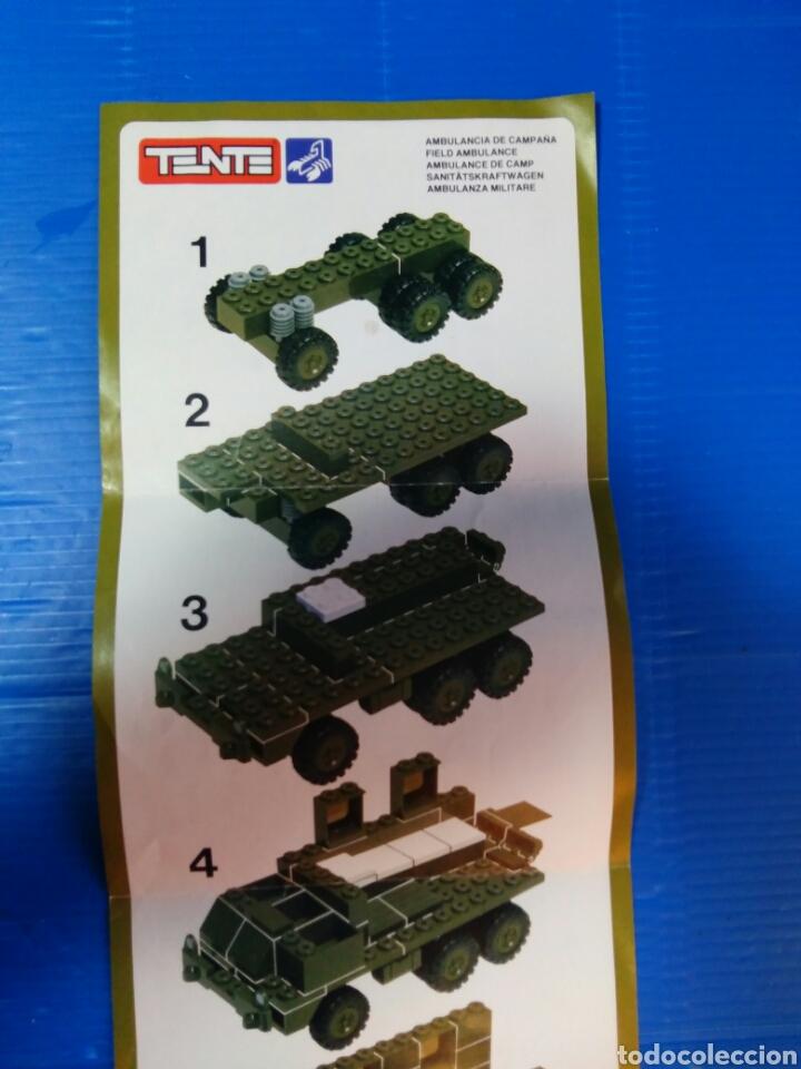 Juegos construcción - Tente: TENTE scorpion caja e instrucciones ref. 0755 ambulancia - Foto 11 - 92071390