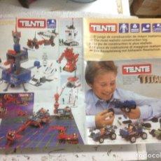 Juegos construcción - Tente: CATALOGO TENTE TITANIUM ROBLOCK . Lote 94767723