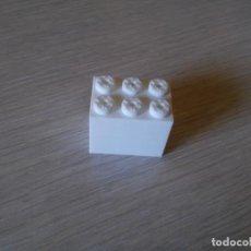 Juegos construcción - Tente: TENTE BLOQUE 3X2 X2 PIEZAS BLANCO. Lote 189148820