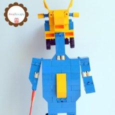 Juegos construcción - Tente: ANASCRAPS - TENTE - ROBOT ROBLOCK THOR 0791 (BLOQUES CONSTRUCCIÓN). Lote 96488439