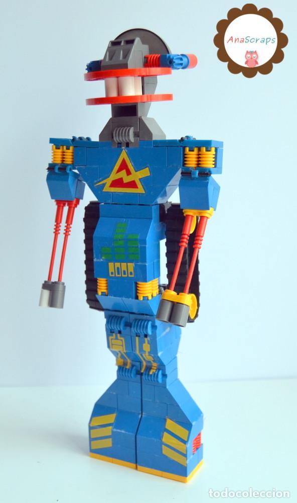 ANASCRAPS - TENTE - ROBOT ROBLOCK WICCO 0777 (BLOQUES CONSTRUCCIÓN) (Juguetes - Construcción - Tente)
