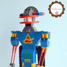 Juegos construcción - Tente: ANASCRAPS - TENTE - ROBOT ROBLOCK WICCO 0777 (BLOQUES CONSTRUCCIÓN). Lote 96488651
