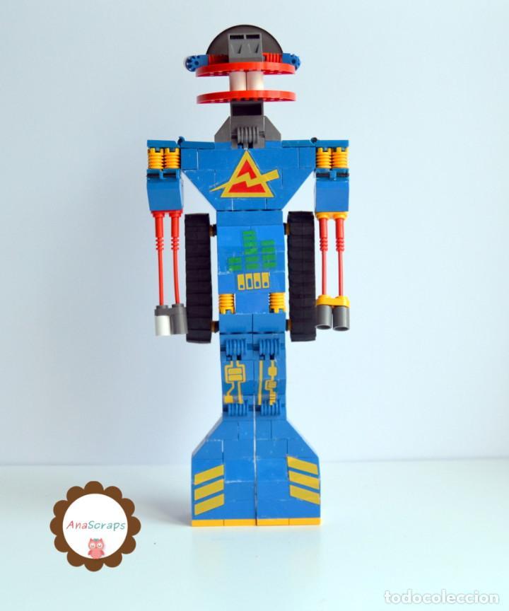 Juegos construcción - Tente: AnaScraps - TENTE - Robot Roblock Wicco 0777 (Bloques construcción) - Foto 2 - 96488651