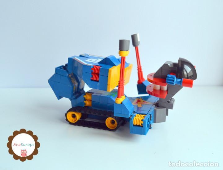 Juegos construcción - Tente: AnaScraps - TENTE - Robot Roblock Wicco 0777 (Bloques construcción) - Foto 3 - 96488651