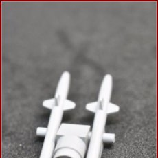 Juegos construcción - Tente: TENTE BORRAS - LANZAMISILES GRIS. Lote 97159491