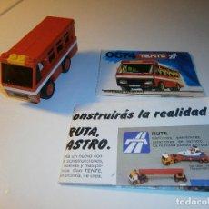 Juegos construcción - Tente: TENTE - AUTOBÚS URBANO - REF.: 0674 - SERIE RUTA - EXIN. Lote 97737311