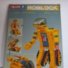 Juegos construcción - Tente: TENTE ROBLOCK PERSUS REF 0790, 187 PIEZAS, EN CAJA. CC. Lote 98523575