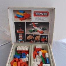Juegos construcción - Tente: CAJA TENTE 1, MUCHAS PIEZAS, REF 0401, EXIN, ORIGINAL AÑOS 70. Lote 98606967